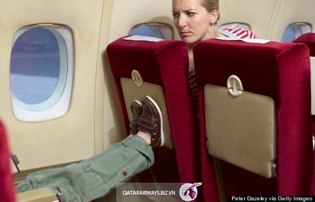 nguyên tắc lịch sự khi đi máy bay