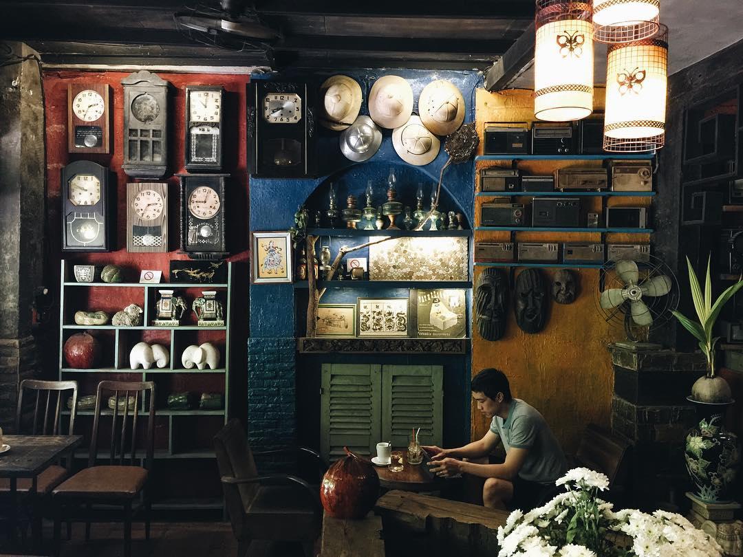 Các quán cafe ẩn mình giữa lòng T.p HCM ồn ã