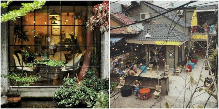 Kết quả hình ảnh cho quán cafe trong hẻm nhỏ