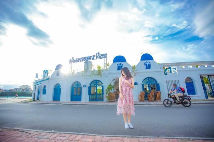 Các điểm sống ảo rất đẹp như Santorini trong Việt Nam