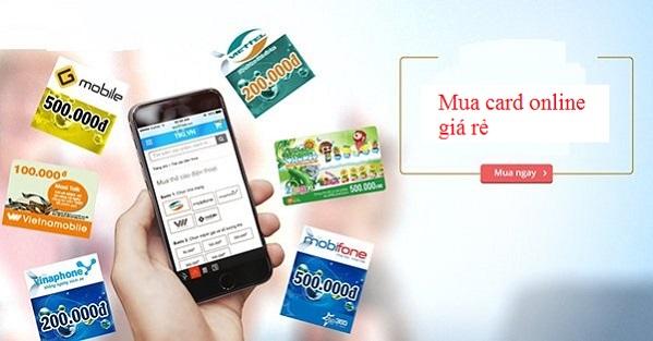 Bật mí cách mua card online chiết khấu cao cực nhanh chóng